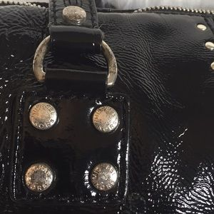 MICHAEL Michael Kors Bags - Michael Kors Studded Patent Leather Satchel